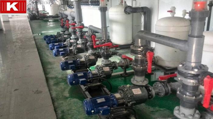 科达水处理选购国宝高扬程耐酸碱自吸泵!