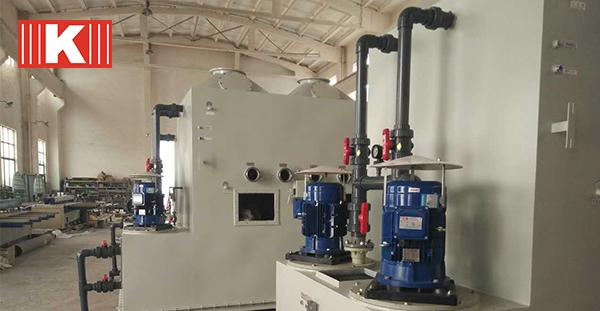 PVDF立式泵在化学镀镍工艺上的应用