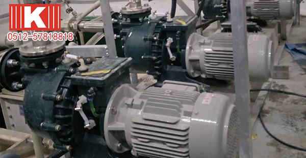 国宝离心泵在浙江某公司的使用案例