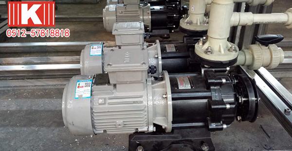 NaClo维护性卸药泵的使用与维修!
