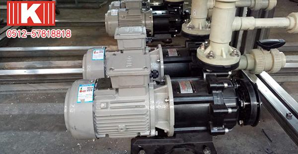 工程塑料磁力泵污水处理效率惊人!