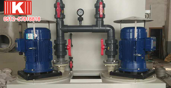 昆山国宝耐酸碱立式泵在废气处理行业这么厉害!