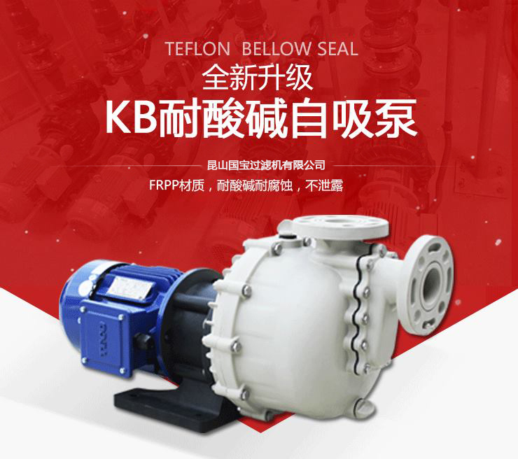 KB耐酸碱自吸泵