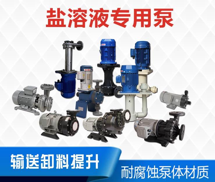 盐溶液专用泵