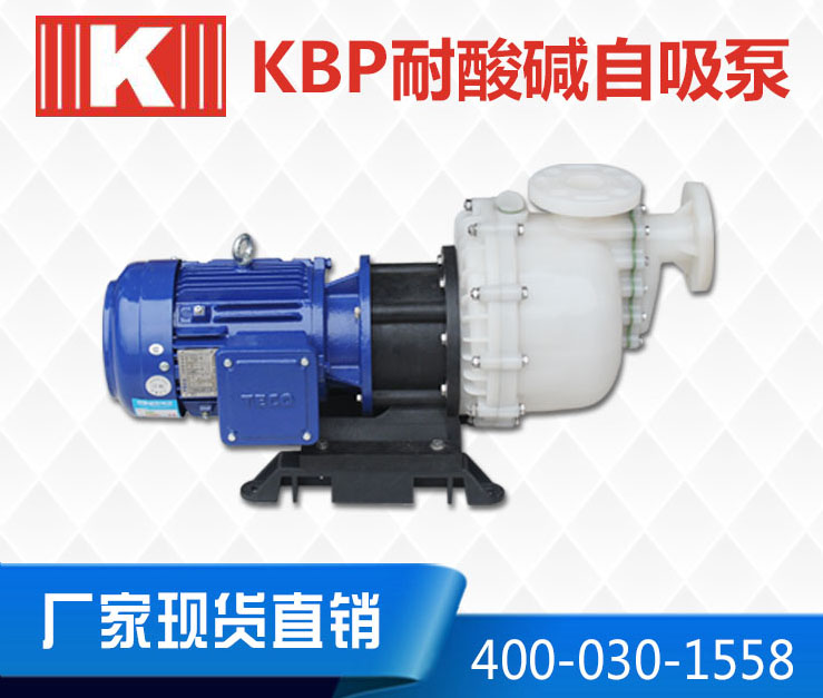 PVDF塑料耐酸碱自吸泵
