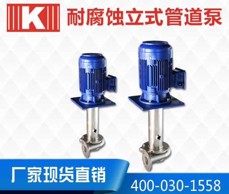 耐腐蚀立式管道泵