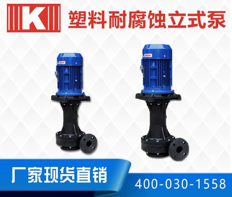 塑料耐腐蚀立式泵