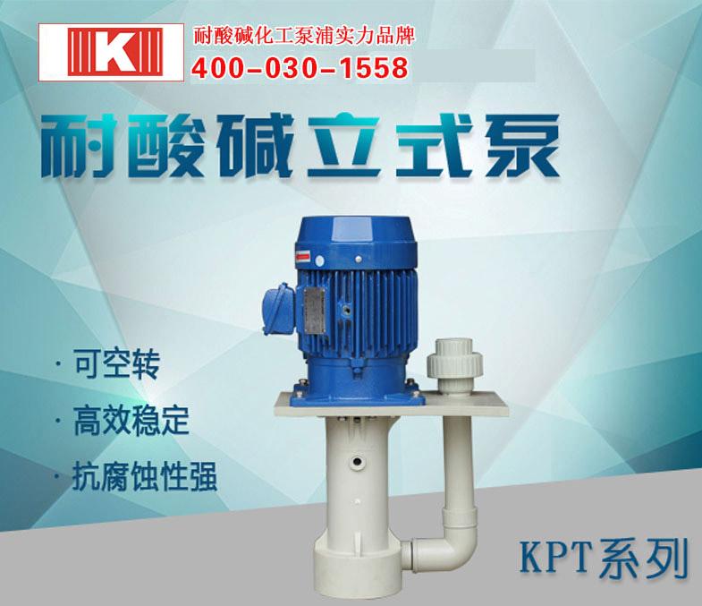 耐酸碱立式泵KPT系列