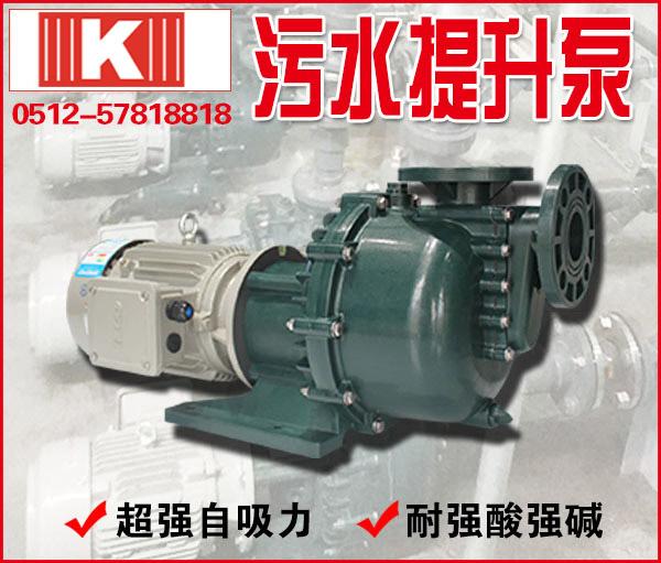 塑料污水提升泵