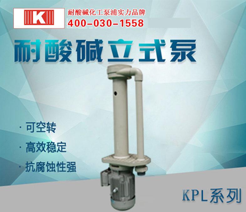 耐酸碱立式泵KPL系列
